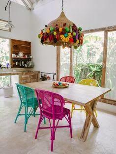 Ayloviú: Proyecto: Sillas Multicolor