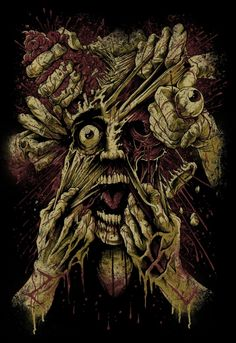 Stunning Horror Art by Brandon Heart