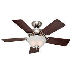 "Hunter Fans 42"" The Kensington® 5 Blade Ceiling Fan & Reviews | Wayfair"