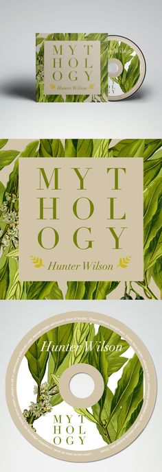 Mythology - CD Cover design. JBP