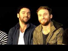 Aidan Turner and Dean O'Gorman - Viva La vida - YouTube