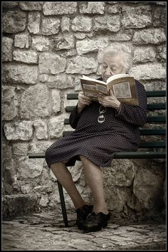 Never getting too old to read!