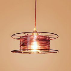 Mig welding wirespool lamp