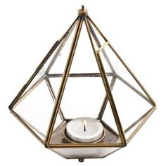 Diamond-shaped candle holder from Lagerhaus - 129 SEK