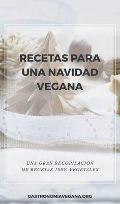 Recopilación de recetas para una navidad vegana - GastronomiaVegana.org