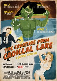 old horror movie posters from the 40   ... posters of the '40s-'50s era, including horror, sci-fi, film noir and