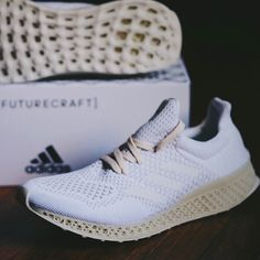 adidas Futurecraft 3D envisions a future where 3D foot scans and 3D printing will provide runners with a custom fit finish midsole.