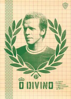 futebol no poster