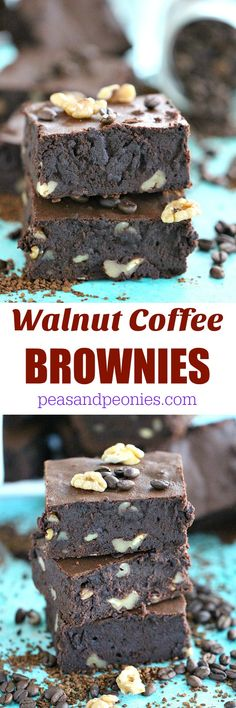 Fudgy Walnut Coffee