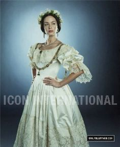 The Young Victoria wedding dress