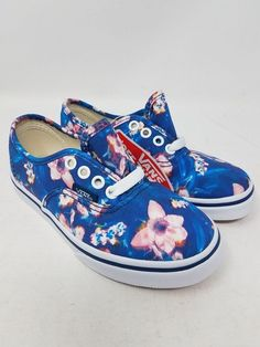 56fee1855c VANS AUTHENTIC LO PRO BLURRED FLORAL POSEIDON ATHLETIC SKATE KIDS 11.5 NEW  WOB  fashion  clothing  shoes  accessories  kidsclothingshoesaccs   unisexshoes ...