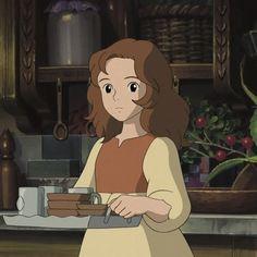 Secret World Of Arrietty, The Secret World, Cute Desktop Wallpaper, Cute Wallpapers, Retro Aesthetic, Aesthetic Anime, Studio Ghibli Characters, Studio Ghibli Art, Hayao Miyazaki