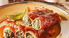 Spinat und Cannelloni gehören einfach zusammen