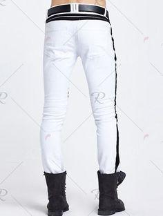 White Jeans, Joggers, Fashion, Moda, Runners, Fashion Styles, Fashion Illustrations