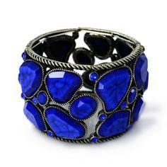 $Pree Brulee Jewelry | Pree Brulee - Bold Lapis Bracelet on Wanelo