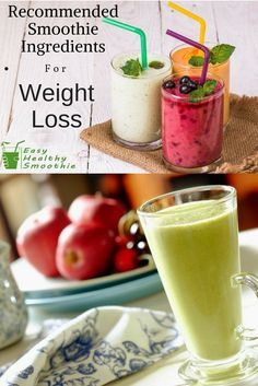 Check out these recommended smoothie ingredients that will help you to lose weight. And that is not all, check out the ultimate guide to losing weight with smoothies. Weight Loss Smoothie Recipes, Diet Recipes, Healthy Recipes, Easy Recipes, Shake Recipes, Amazing Recipes, Raspberry Smoothie, Smoothie Diet, Avocado Smoothie