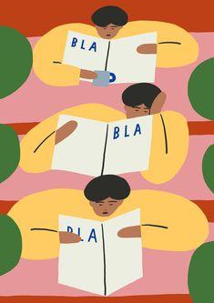 Artist and illustrator Karl Joel Larsson turns his attention to people Grafik Design, Illustrations And Posters, Branding, Drawing People, Digital Illustration, Print Patterns, Art Drawings, Prints, Falmouth