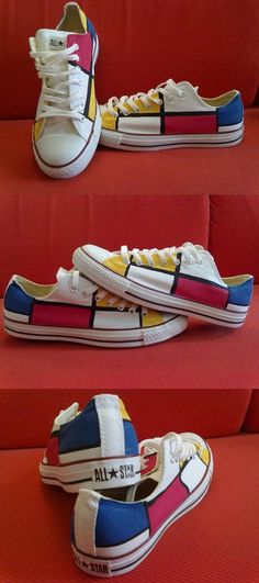 with all the pairs of converse that I have, I should really paint some of them. probably won't go mondrian though...