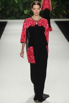 Naeem Khan | Spring 2014 Ready-to-Wear Collection | Style.com - sweater/ light top