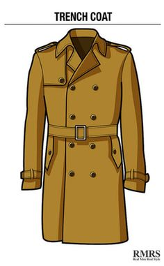 Guide To Man's Trench Coat | Stylish, Practical and Classic | Style Tips For Men
