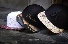 Admirable snapbacks. More: www.admirable.co