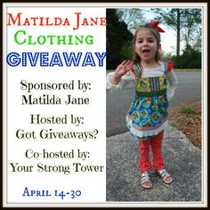 Enter to Win a $50 Gift Card to Matilda Jane Clothing!