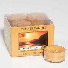 Amber Glow Scented Candle