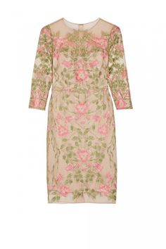 Ascot Dresses: Marchesa Notte embroidered dress