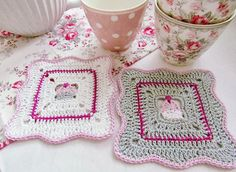 Cupcake Crochet Pot Holders Inspiring Crochet and Tilda Craft Projects