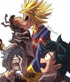 Boku No Hero Academia Funny, My Hero Academia Episodes, Hero Academia Characters, My Hero Academia Manga, Boku No Hero 13, Anime Villians, Video Game Anime, Villain Deku, Cute Stars