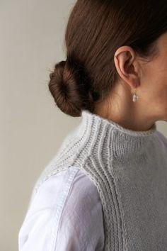 Easy Sweater Knitting Patterns, Knit Vest Pattern, Knitting Yarn, Free Knitting, Purl Soho, Knit In The Round, Lana, Knit Crochet, Breeze