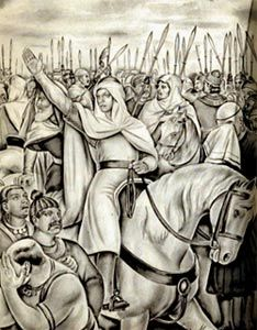 'Imād ad-Dīn Muḥammad ibn Qāsim ath-Thaqafī, was an Umayyad general who conquered the Sindh and Multan regions along the Indus River for the Umayyad Caliphate. He was born and raised in the city of Ta'if. Qasim's conquest of Sindh and southern-most parts of Multan enabled further Muslim conquests on the Indian subcontinent. Due to his close relationship with Al-Hajjaj, Bin Qasim was executed after the accession of Caliph Sulayman ibn Abd al-Malik.