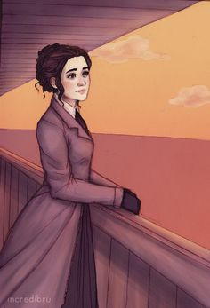 """""""So where are you off to on this lovely evening, ma'am?"""" A tall thin man inquired, tipping his hat. Emaline smiled slightly as she brushed a stray lock of hair out of her face and gazed out across the water. """"So very far from home."""" she sighed."""