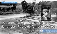 24 de enero de 1934: Guatemala, Honduras y Nicaragua denuncian Acuerdo de Paz y Amistad – Hoy en la Historia de Guatemala United Fruit Company, Honduras, The Unit, Baseball Cards, Movie Posters, Movies, January, Friendship, Peace