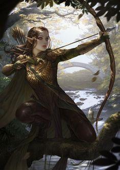Fantasy art, female elf и fantasy characters. Fantasy Warrior, Fantasy Girl, Fantasy Art Women, Warrior Girl, Fantasy Rpg, Medieval Fantasy, Warrior Women, Elf Warrior, Fantasy Forest