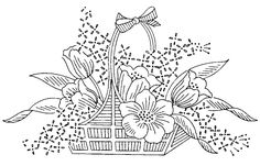 Flower Basket via Flickr