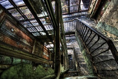 Elevator Stairs by keiththrn, via Flickr