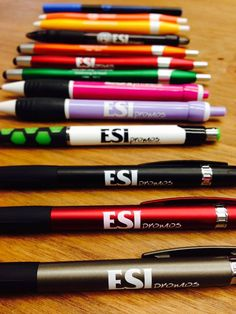Evolution of the ESI pen. Call to get yours today! Art Supplies, Evolution, You Got This, Stationery, How To Get, Stationeries, Stationery Shop, Paper Mill, Office Supplies