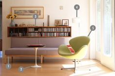 Shop the Room: Heinz & Veronique's Clean-Lined Classics