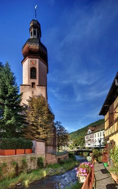 Old Catholic church in Schramberg, Baden-Württemberg, Germany | by Sadegh Miri