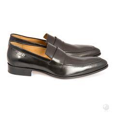 Global Wealth Trade Corporation - FERI Designer Lines Penny Loafers, Loafers Men, Men's Shoes, Dress Shoes, Optical Glasses, Cow Hide, Colour Black, Cowhide Leather, Black Heels