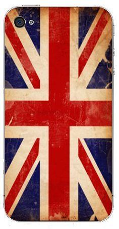 Union Jack phone case.