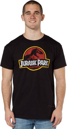 Jurassic Park Shirt... Seriously has been on my amazon wish list for years!