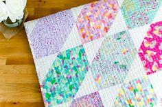 Fat Quarter Fancy - Free Quilt Pattern using 9 Fat Quarters!