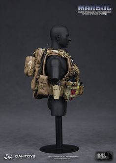 onesixthscalepictures: DAM Toys MARSOC Special Ops Team Operator (Marine Special Operations Regiment)