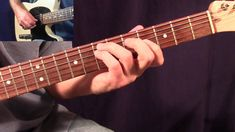 Guitar Licks - Lesson 6 Intermediate Country Rock in A7 (Fast and Slow)