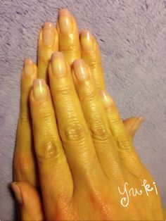 simple nude/pink tip nails...my ideal look for nails. Clean, simple, and natural. So pretty!
