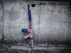 "When they say ""Too much of a good thing isn't good"" We're sure they weren't referring to America... #Merica. http://ift.tt/1yQDEDl #cerakoteMADness #MADcustomcoating #MADcustom #cerakote #Merica #America #Murica #USA #ar15 #wartorn #cerakotemafia #cerakotemilitia #cerakotemagic #igmilitia #igguns #guns #police #military #556 #224 #fn #pewpewlife #freedom"