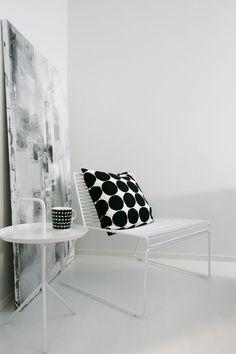 Living Room Designs, Living Spaces, Minimalist Decor, Cozy House, Contemporary Design, Sweet Home, House Design, Marimekko, Interior Design