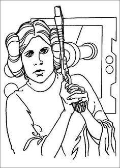 Star Wars Coloring Pages Dr. Odd - Printable Star Wars - Ideas of Printable Star Wars - Star Wars Coloring Pages Dr. Star Wars Colors, Color Wars, Star Wars Coloring Book, Coloring Books, Coloring Sheets, Boy Coloring, Printable Coloring Pages, Coloring Pages For Kids, Star Wars Princesse Leia